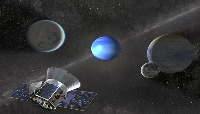 NASAs Tess spots a gaseous planet 3 times as large as the Earth