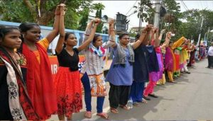 Sabarimala: Women protesters to make a 630-Km-long Human chain