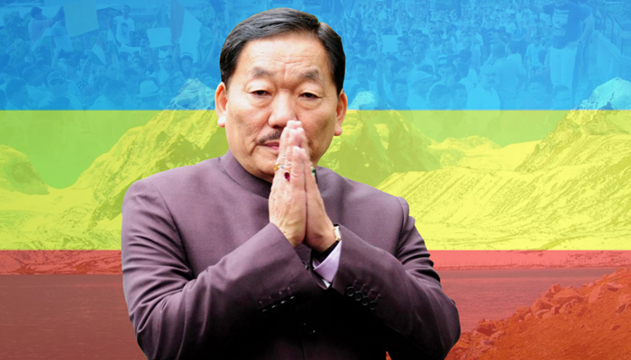 Sikkim CM Chamline launches One Family, One Job scheme in the state