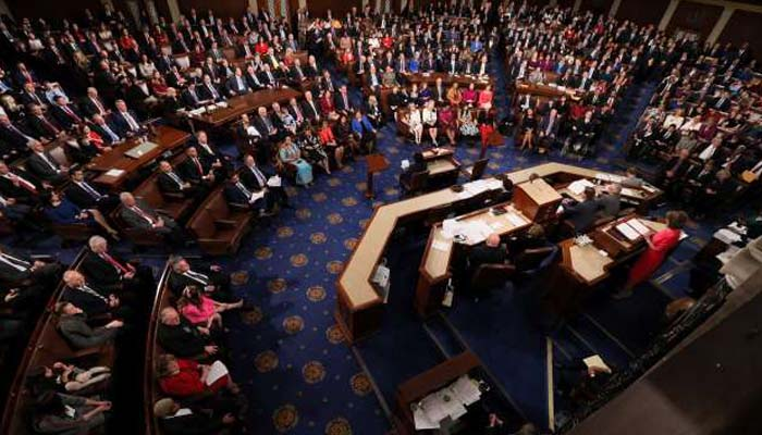 US House democrats vote to reopen govt, reject Trump wall money