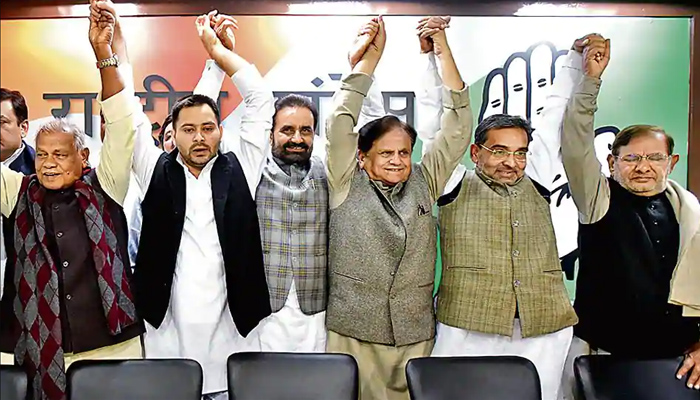 'Grand Alliance' to hold its first formal meeting at Tejashwi Yadav's house