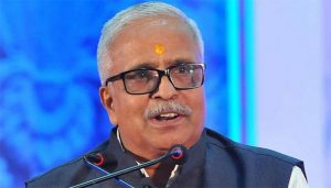 RSS leader Bhaiyaji Joshi says 'Ram Temple will be constructed in Ayodhya by 2025'