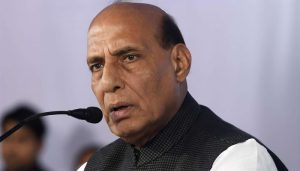 Need to be alert against Pakistan: Defence Minister Rajnath Singh
