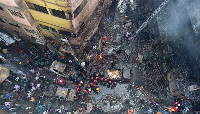 Bangladesh: Death toll reaches to 70 in chemical warehouses massive fire