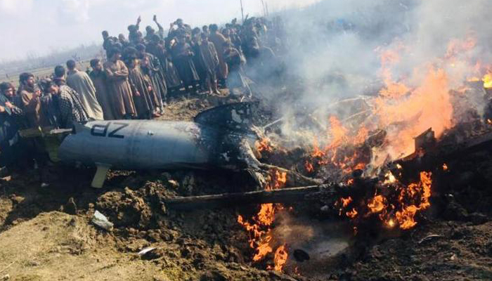 Four lives lost in an aircraft crash amid border tension between India-Pak