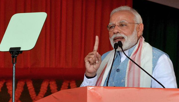 Everyday they (opposition) come up with new abuses, says Modi in Guntur
