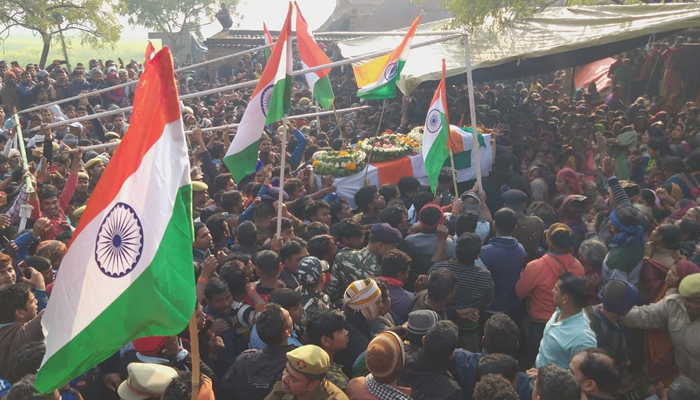 Salute to Martyrs: Mortal remains of bravehearts reach native places