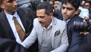 Robert Vadra faces ED for the third round of interrogation
