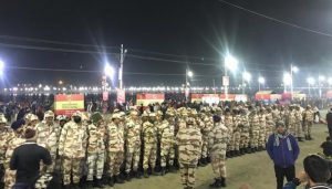 Security beefs up at Kumbh ahead of 'Mauni Amavasya'