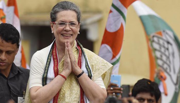 Sonia Gandhi thanks SPG for its service, terms it outstanding force
