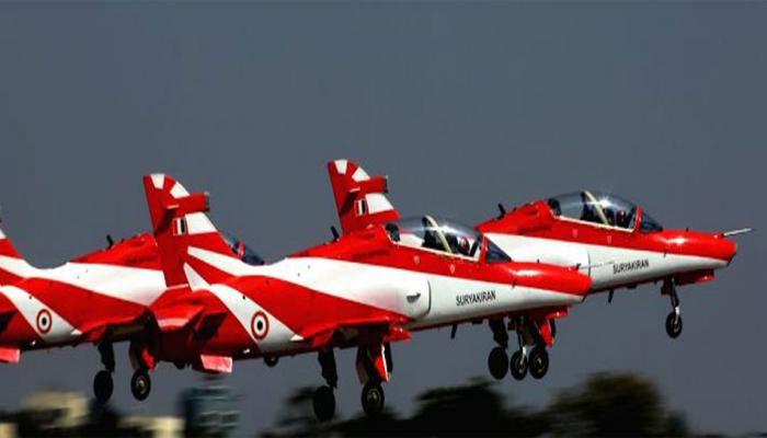 Bengaluru: Two aircraft collide during Airshow rehearsal, One pilot dead