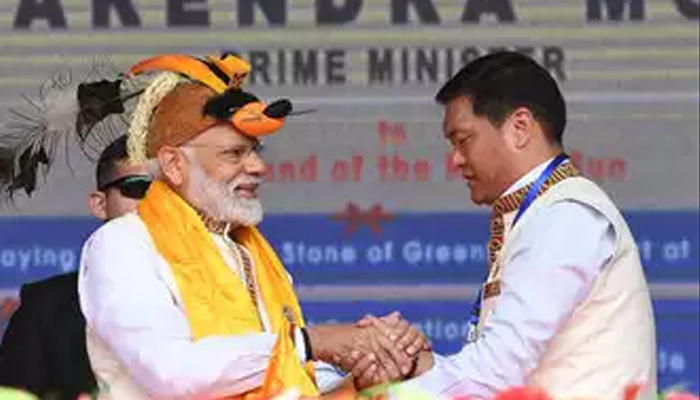 China opposes PMs Arunachal visit, India holds its stand, hits back strongly