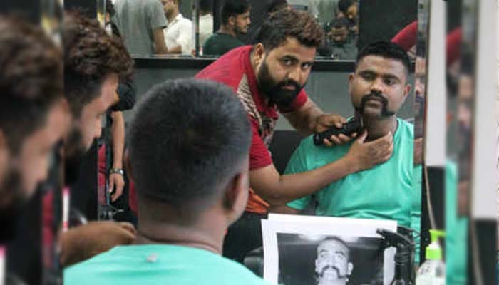 Indias Josh gets high with new Abhinandan style Moustache