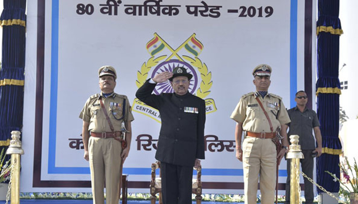 Ajit Doval attends 80th raising day of CRPF, Pays tribute to Pulwama martyrs