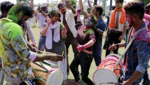 Holi fervor grips Lucknow with Colors and Music