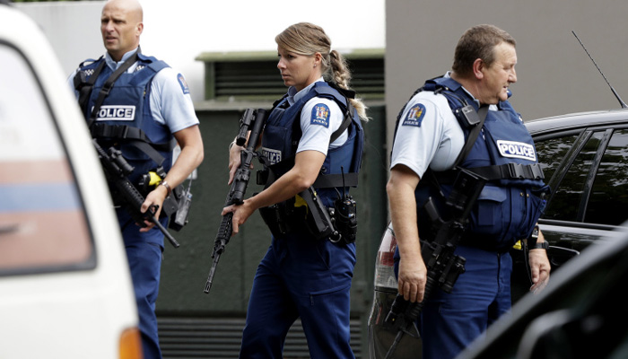 New Zealand mosque shootings: 40 killed, four detained