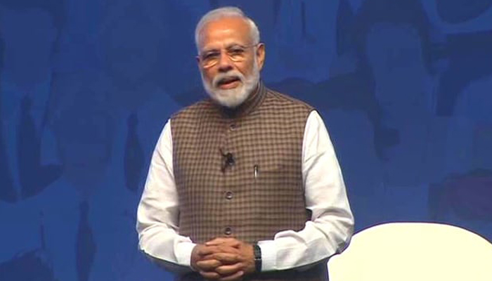 See track record of those pitching for eliminating poverty: PM Modi