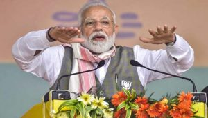 Vote for BJP to eradicate terrorism, Modi appeals to people after SL blasts