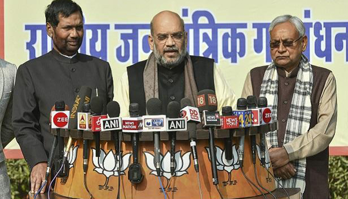 2019 Polls: NDA announces candidates for 39 out of 40 seats in Bihar