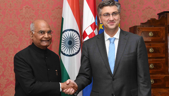 India will take all necessary measures to secure itself: Prez Kovind in Croatia