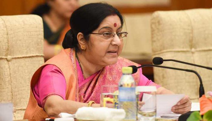 Fight against Terrorism is not confronting any religion: Sushma Swaraj at OIC
