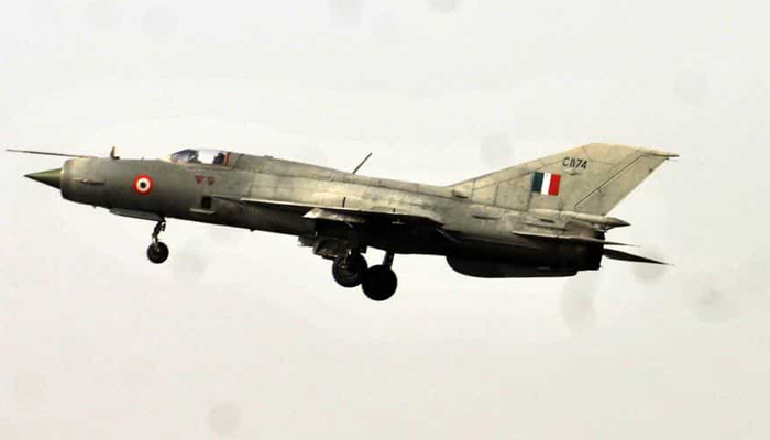 IAFs MiG-21 fighter jet crashes in Rajasthans Bikaner; pilot ejects