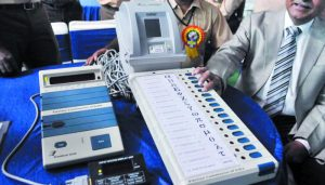 AP: Faulty EVMs delay election proceedings; polling goes late into night