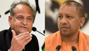 Adtiyanath should be booked for sedition: Gehlot on 'Modi ji ki sena' remarks