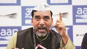 Voting for Cong in Delhi equivalent to voting for BJP: AAP