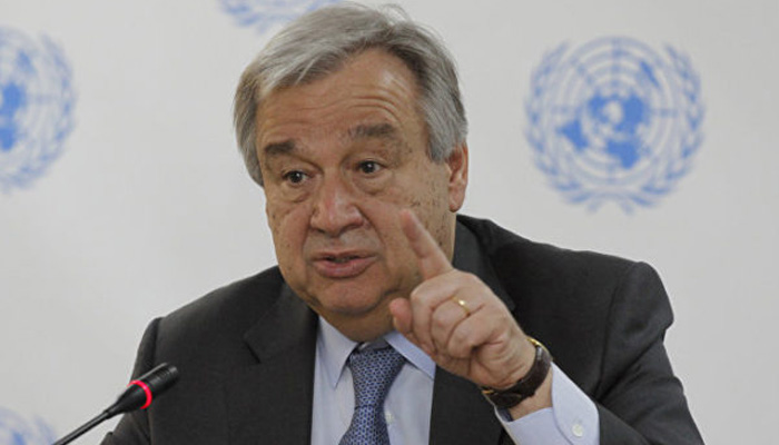 United Nations chief urges world to stamp out religious persecution