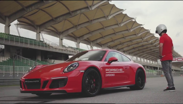 Porsche World Road Show Takes Place at Buddh International Circuit