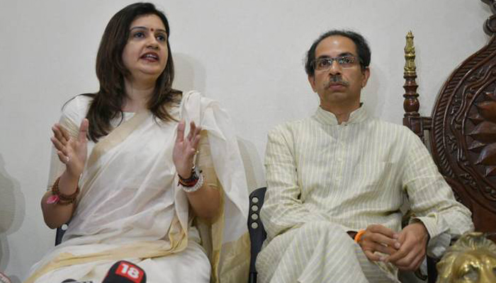 Congress spokesperson Priyanka Chaturvedi joins Shiv Sena
