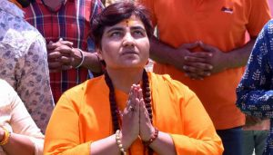 Silver-coated brick among Rs 4.44 lakh assets owned by Sadhvi Pragya