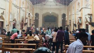 'Pieces of flesh thrown all over Sri Lankan church after blast': Top Priest