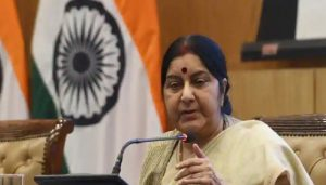 Three Indians killed in blasts in Sri Lanka: Sushma Swaraj