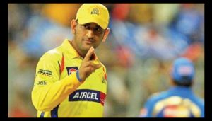 IPL: 'Captain Cool' loses cool as CSK win last-ball thriller