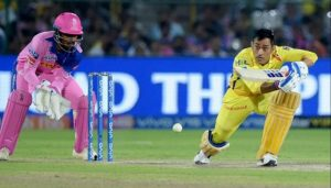 Dhoni let off with 50 per cent fine after angry reaction to umpire's call