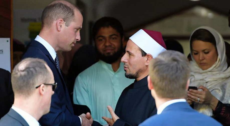 Extremism must be defeated, prince tells New Zealand mosque survivors
