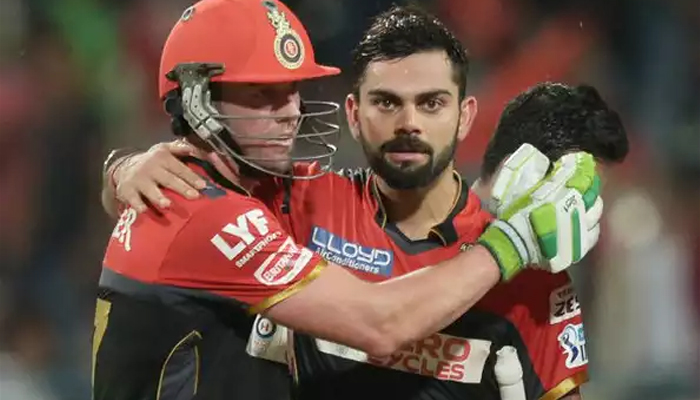 I told AB de Villiers 'I will give you a hug if we win tonight', says Kohli