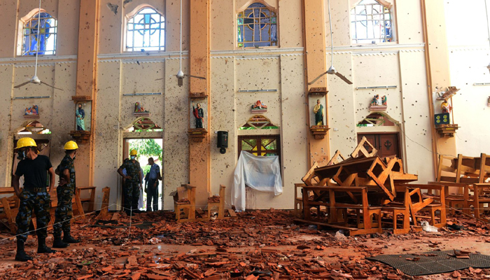 Lanka blasts: 7 suicide bombers involved; 24 arrested as toll rises to 290
