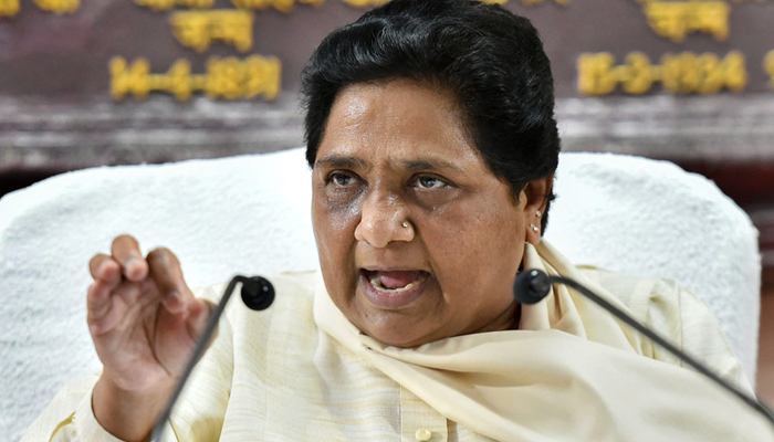 Mayawati questions Oppositions attempted visit to Jammu and Kashmir