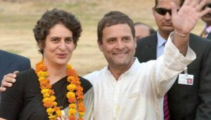 "Priyanka is my ""best friend"", says Congress President Rahul Gandhi"