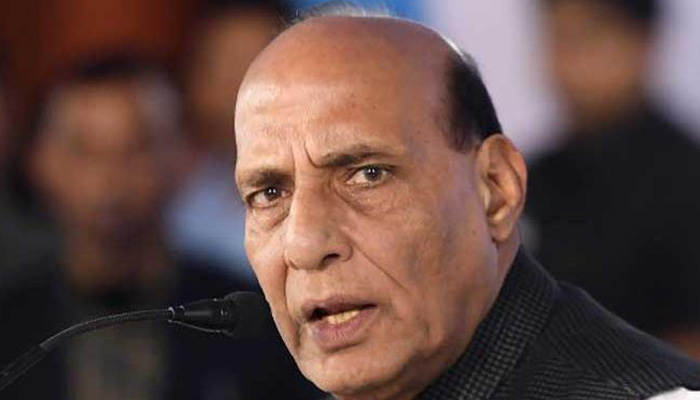 Rajnath to hold talks with French Prez before sortie in Rafale jet