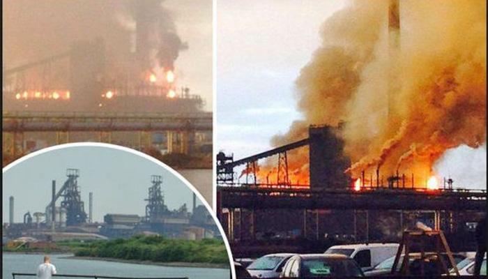UK: Two injured in explosion at largest Tata Steelwork plant in Port Talbot