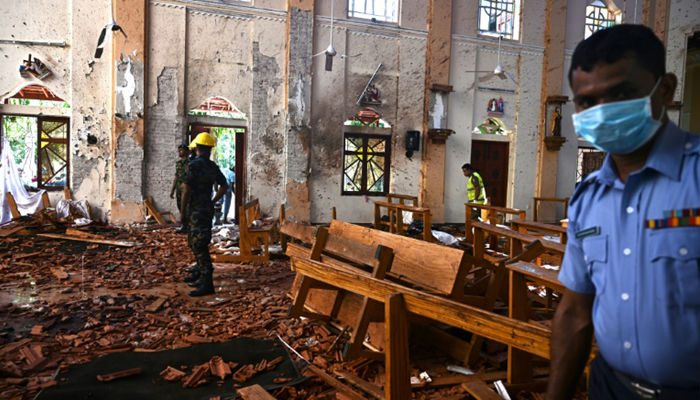 Nine suicide bombers, including woman carried out the terror attack in Lanka