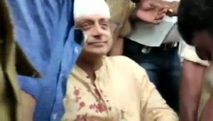 Tharoor sustains injuries while performing 'thulabharam' at temple, gets 6 stitches