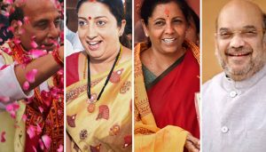Shah gets 'Home', Rajnath 'Defence', Nirmala becomes new Fin minister