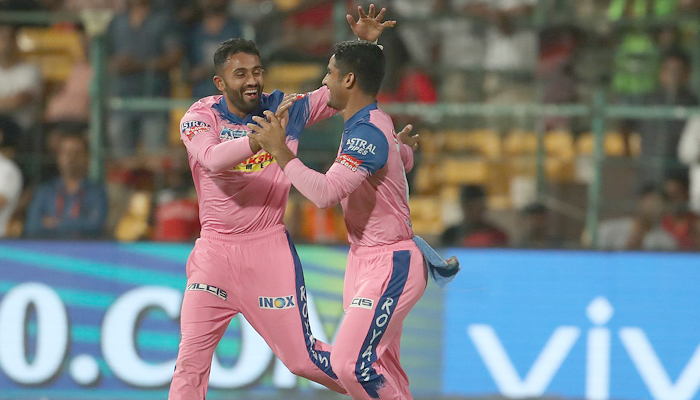 Gopal takes dream hat-trick in rain-hit tie as RCB knocked out of IPL