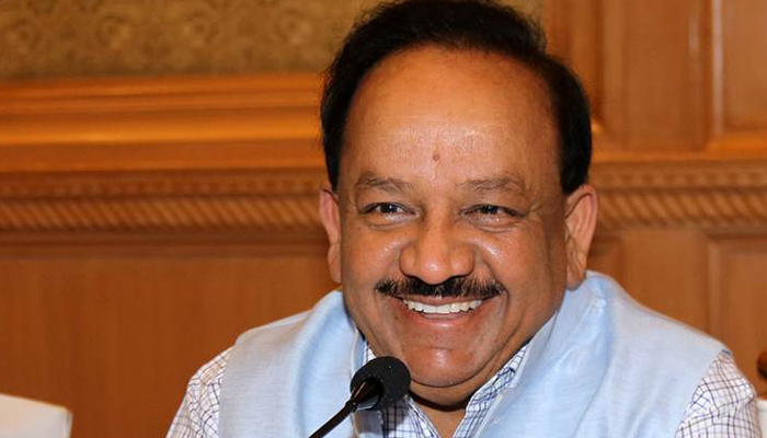 Harsh Vardhan to take charge of Health Ministry on Monday