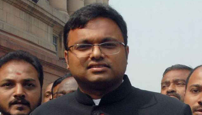 Court rejects Karti Chidambarams discharge plea in tax evasion case